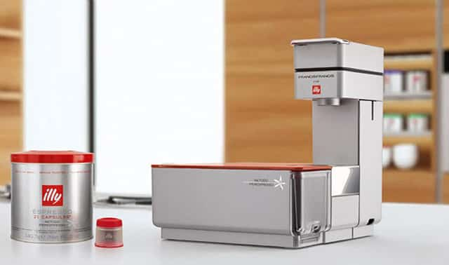 Illy Francis Francis Y1 review espressomachine