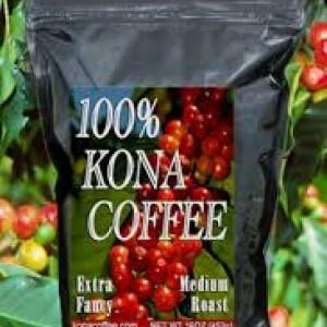Hawaiin Kona koffie