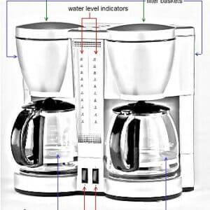 hoe werkt een koffiezetapparaat