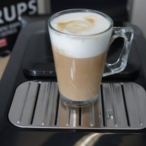 De Krups maakt indrukwekkende cappuccino.