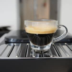 dikke, olieachtige espresso