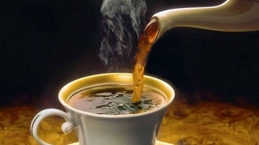 Caffeine in je kopje koffie