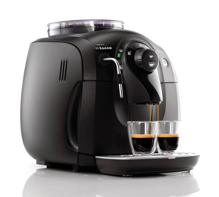 saeco small espresso machine review