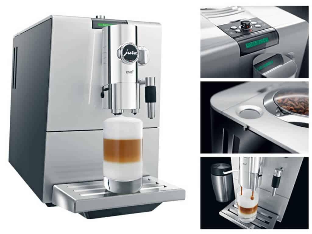Jura ENA 9 One Touch espressomachine overzicht