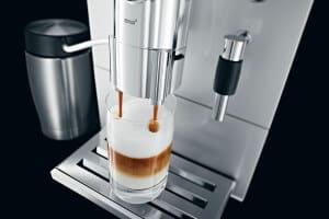 Jura ENA 9 One Touch koffie espresso resultaat