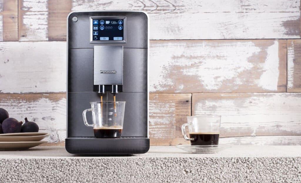 Panasonic NC-ZA1 review volautomatisch espressomachine