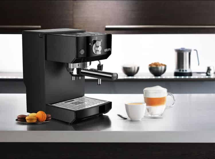 Krups XP5210 review espresso machien