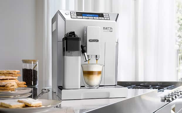 DeLonghi Eletta Cappuccino Top review wall