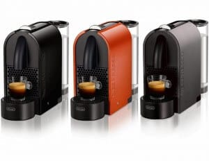 Nespresso U kleuren koffiezetter