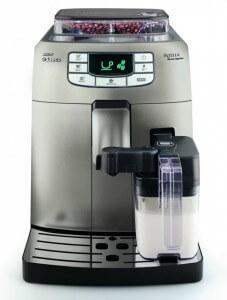 Saeco Intelia Cappuccino Metal volautomaat espressomachine