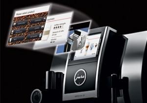 espressomachine display