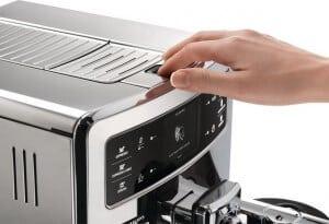 saeco volautomatische espressomachine bediening