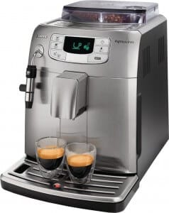 volautomatische espressomachine Saeco Intelia Class Metal