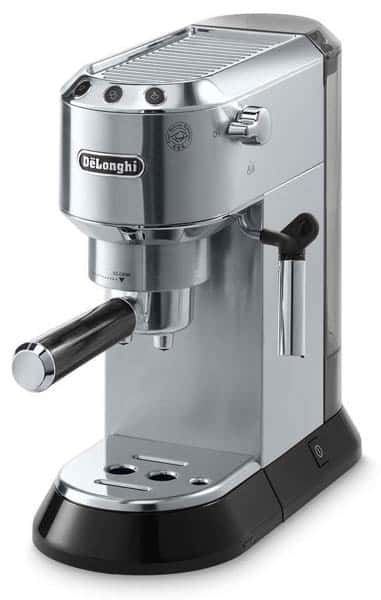 DeLonghi Dedica espressomachine review close