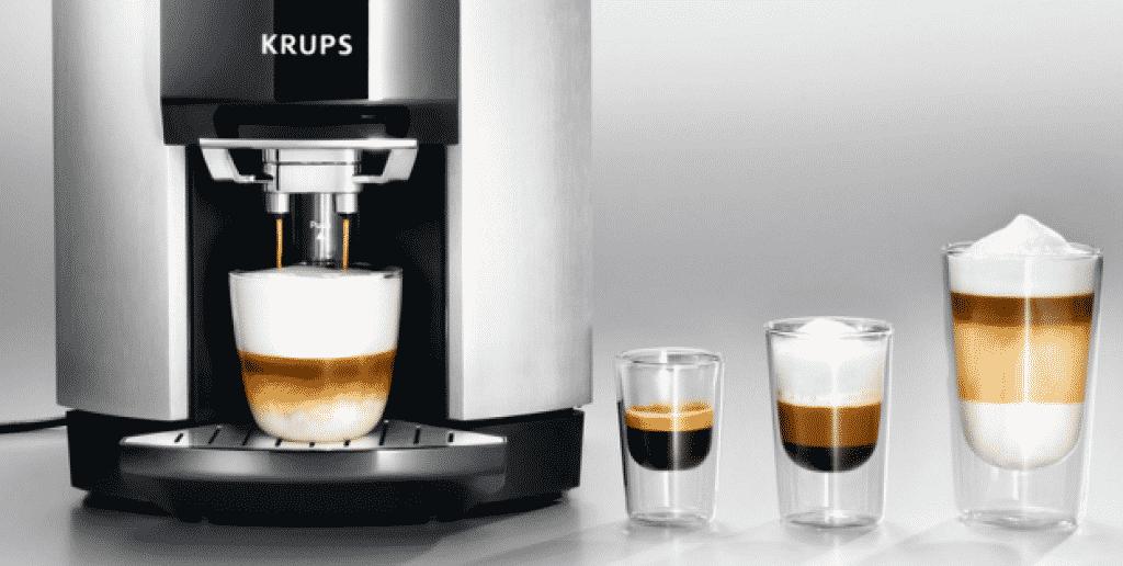 Krups EA9000 espressomachine soorten