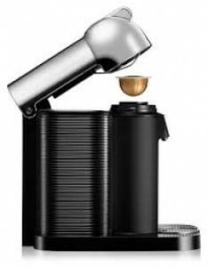 koffiezetapparaat Nespresso Vertuoline review zijkant