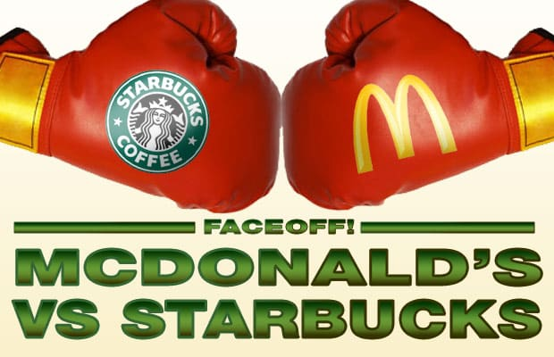 starbucks vs mcdonalds