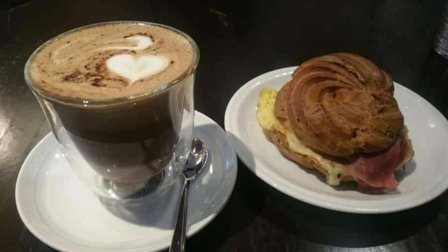 Chocolade hazelnoot cappuccino