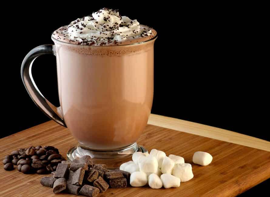 Chcolade mokka koffie