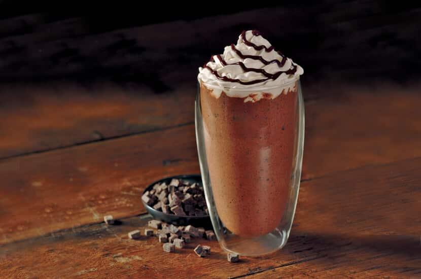 Magere mokka frappuccino
