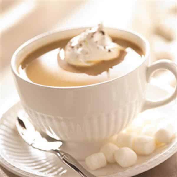 Marshmallow crème koffie