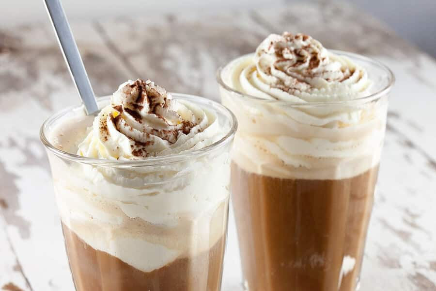 Romige vanille koffie