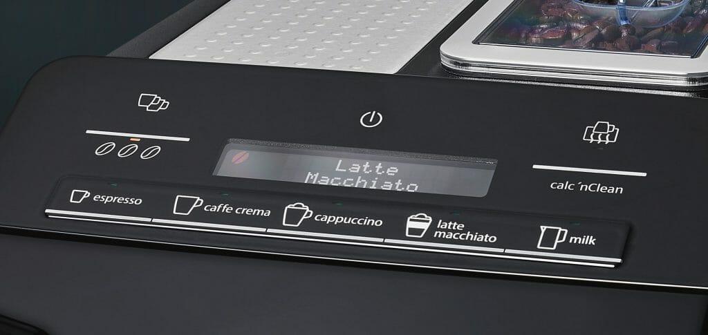 espressomachine Siemens EQ3 S500 display