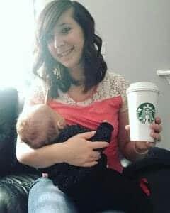 Koffie tijdens borstvoeding