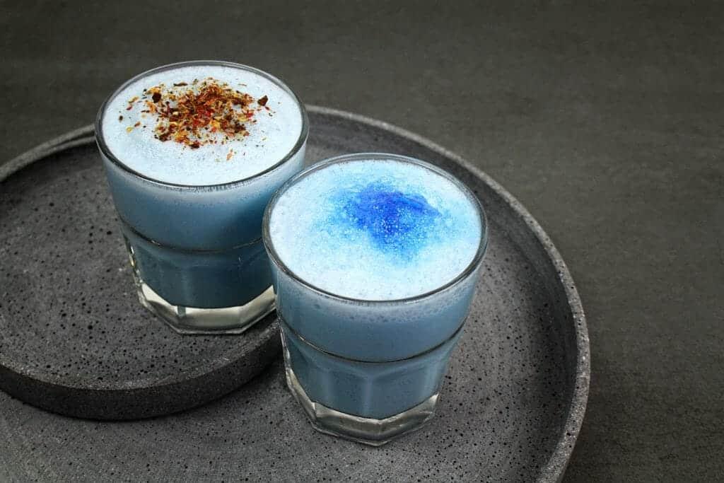 Blauwe Latte