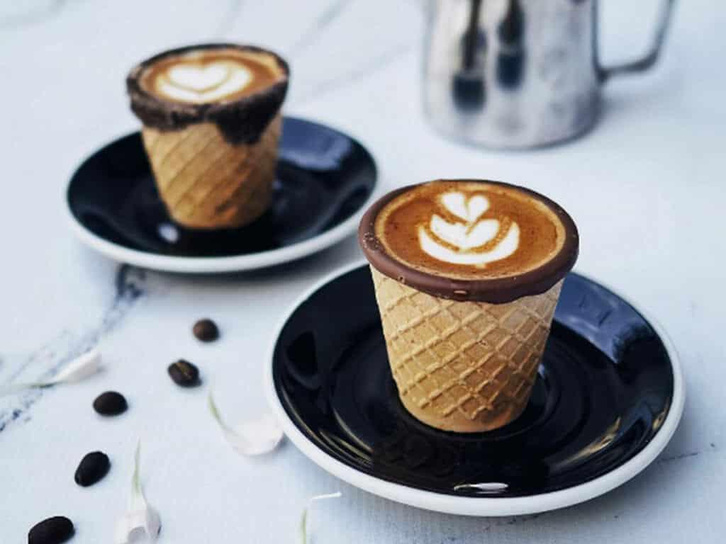 Koffie hoorn