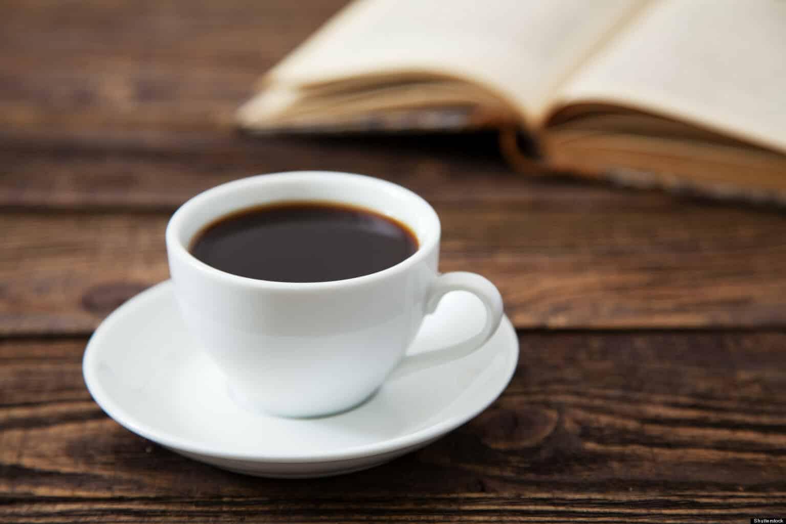 Gewichtsverlies zwarte koffie