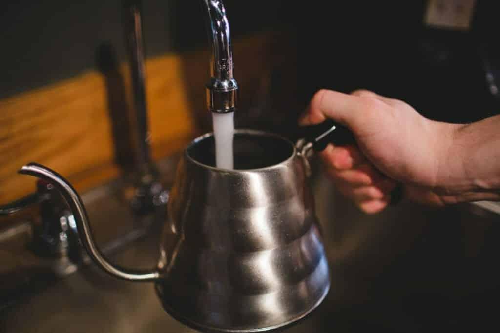 Koffie kraanwater