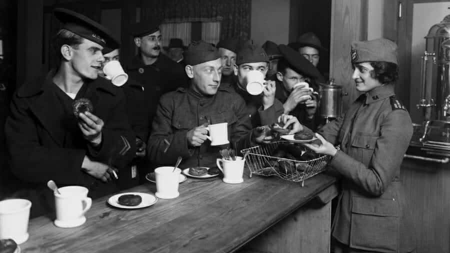 Oploskoffie oorlog