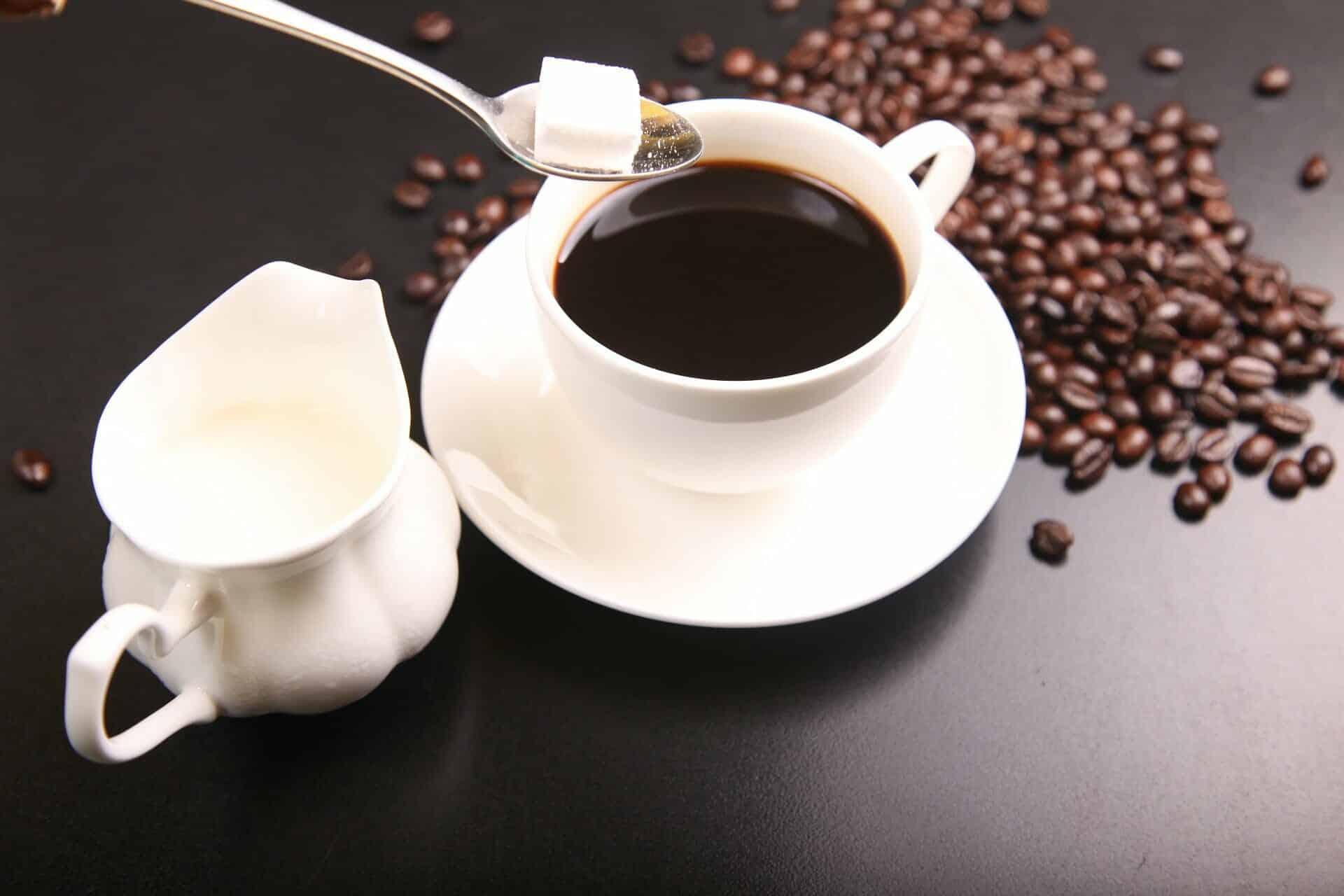 Suiker koffie