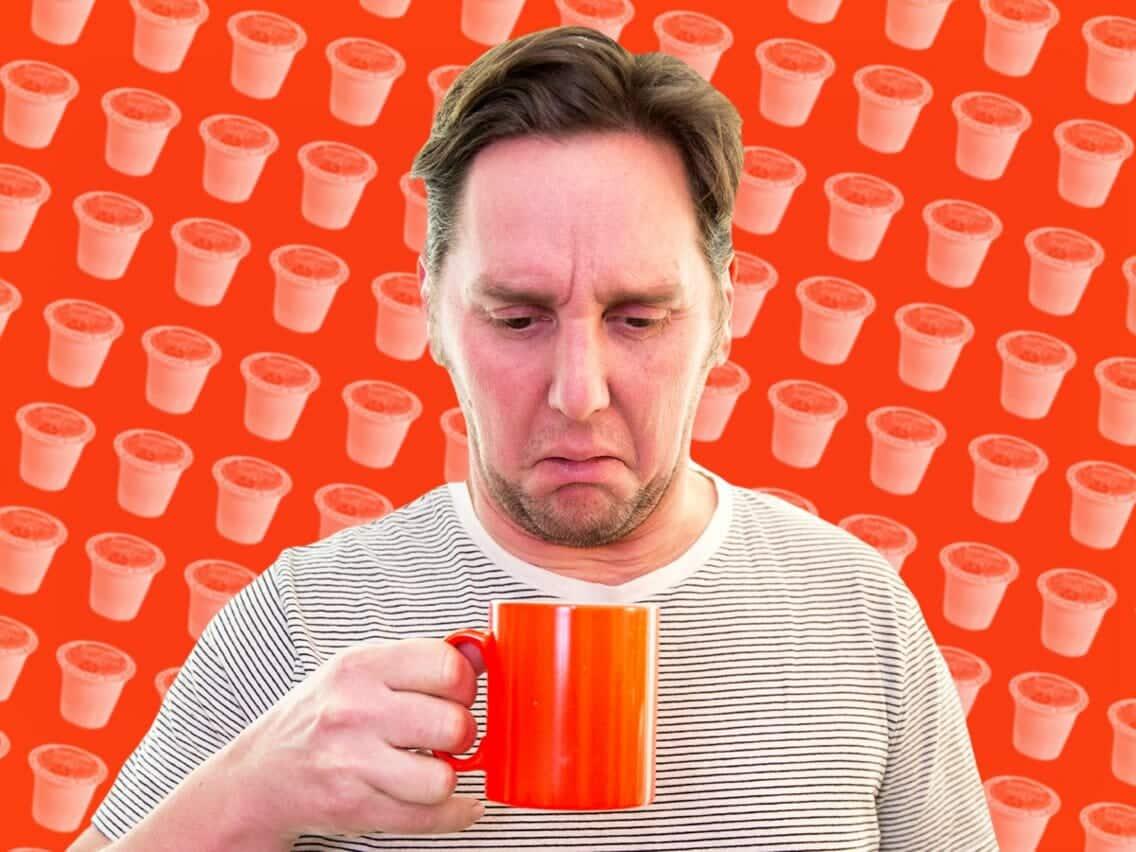 Vieze koffie