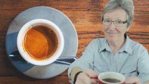 Bittere koffie voorkomen