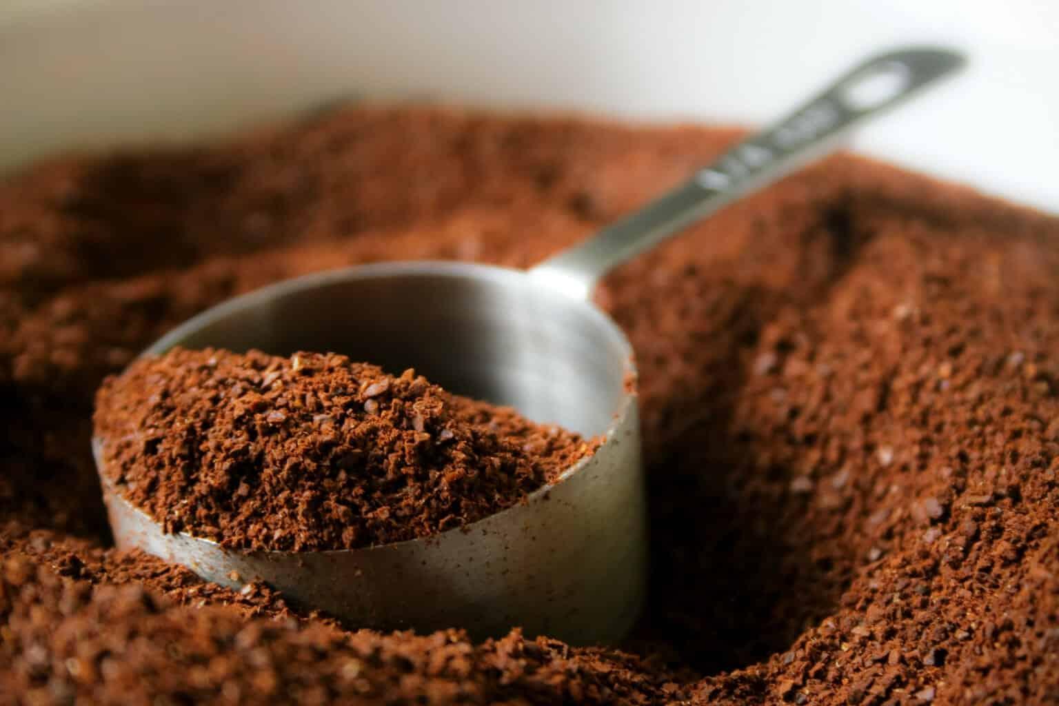 Gemalen koffie hergebruiken