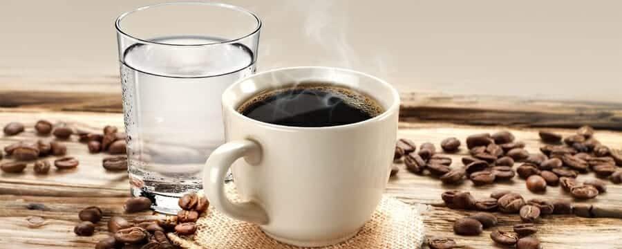 Koffie-water verhouding