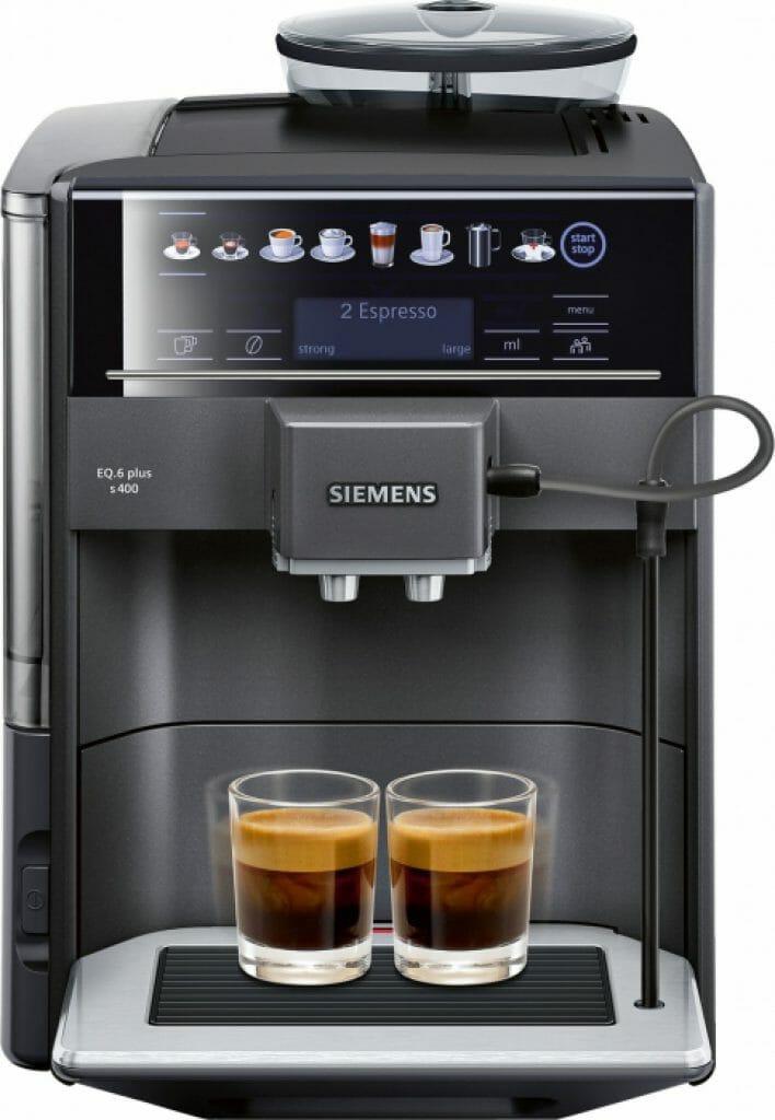 Siemens EQ 6 plus espressomachine review