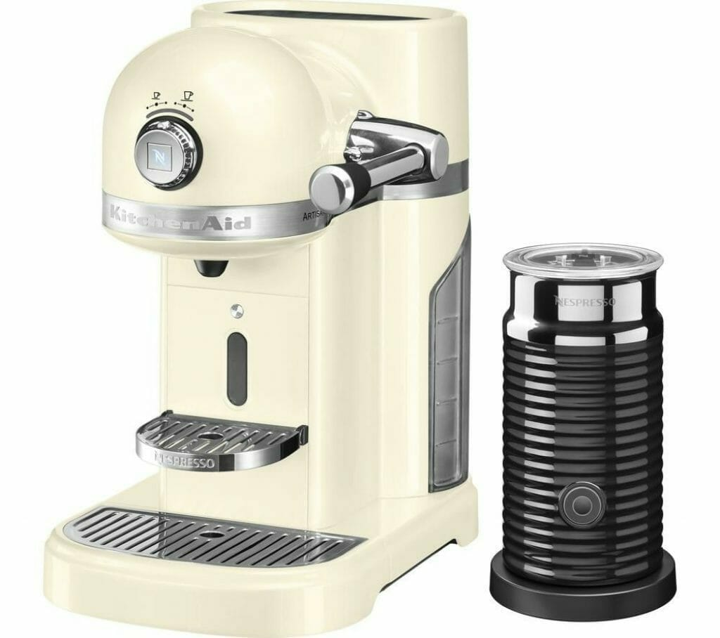 Nespresso KitchenAid Artisan koffiezetapparaat cups machine