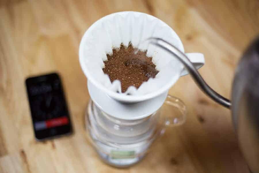 Kalita Wave koffie bereiden