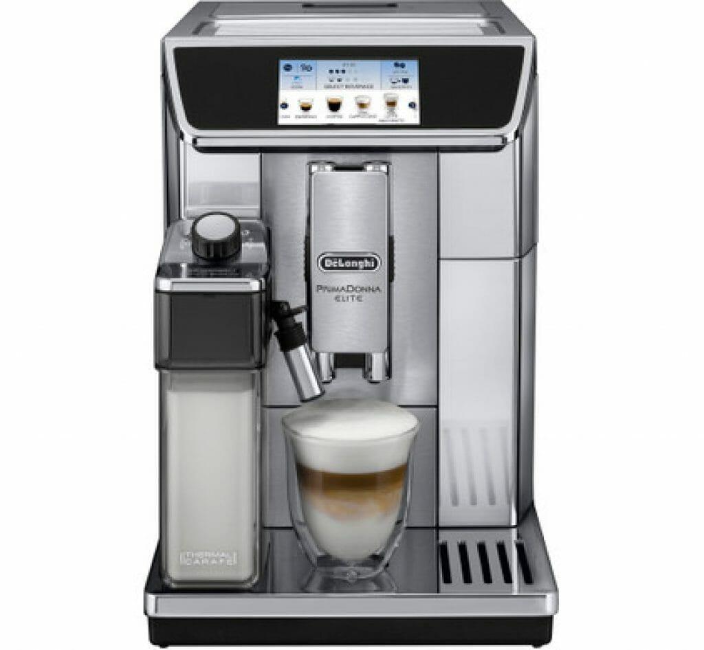 DeLonghi PrimaDonna Elite koffieautomaat bonen