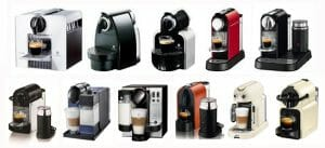 Nespresso OriginalLine machines