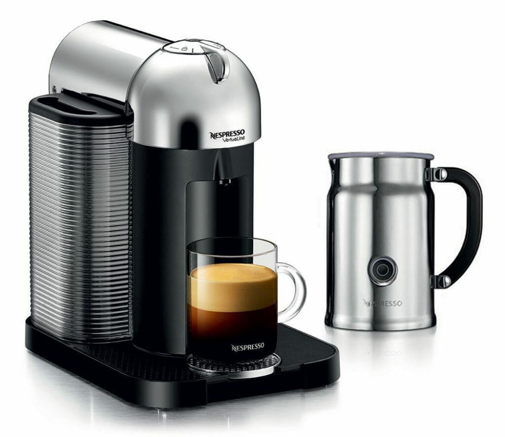 Nespressso Vertuoline machine review