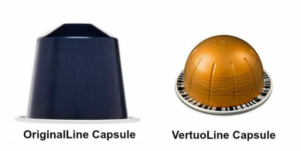 OriginalLine vs VertuoLine Capsule