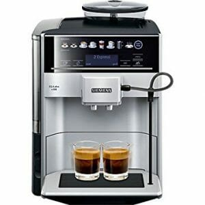 Siemens EQ6 Plus koffiebonen apparaat
