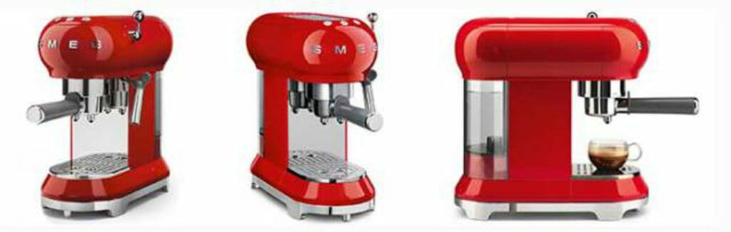 Smeg ECF01 koffiemachine