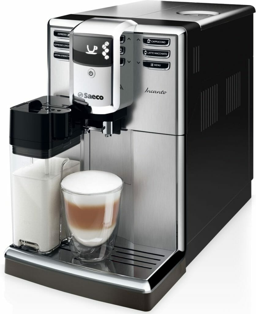 koffiemachine saeco incanto review