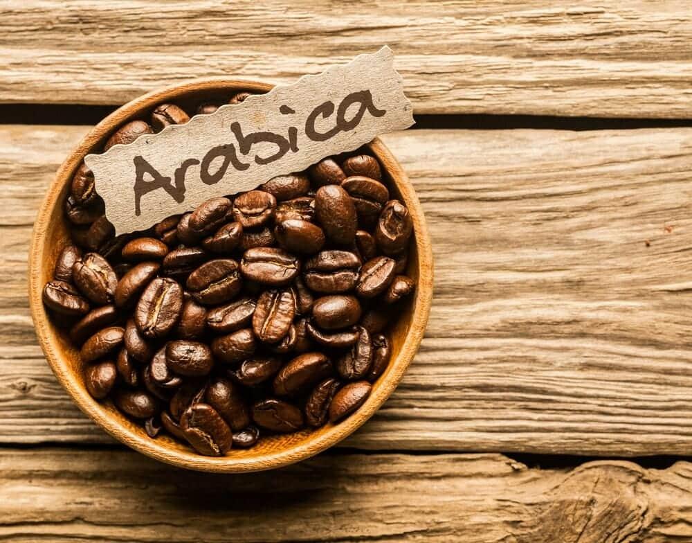 Arabica koffiebonen
