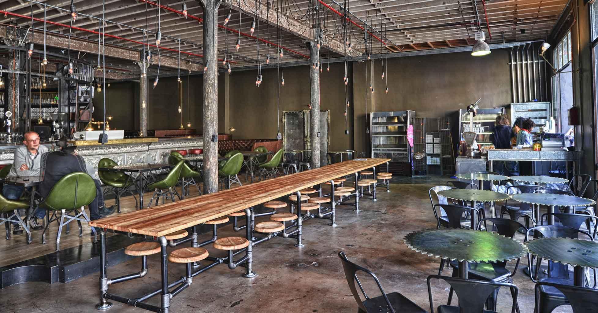 Cafés voor hipsters